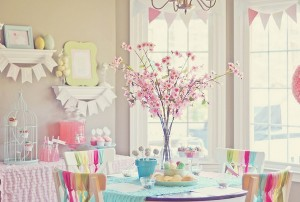 Spring cookie decorating party with TONS of cute ideas! via Kara's Party Ideas KarasPartyIdeas.com #easter #spring #decorating #cookie #party #idea #supplies (8)
