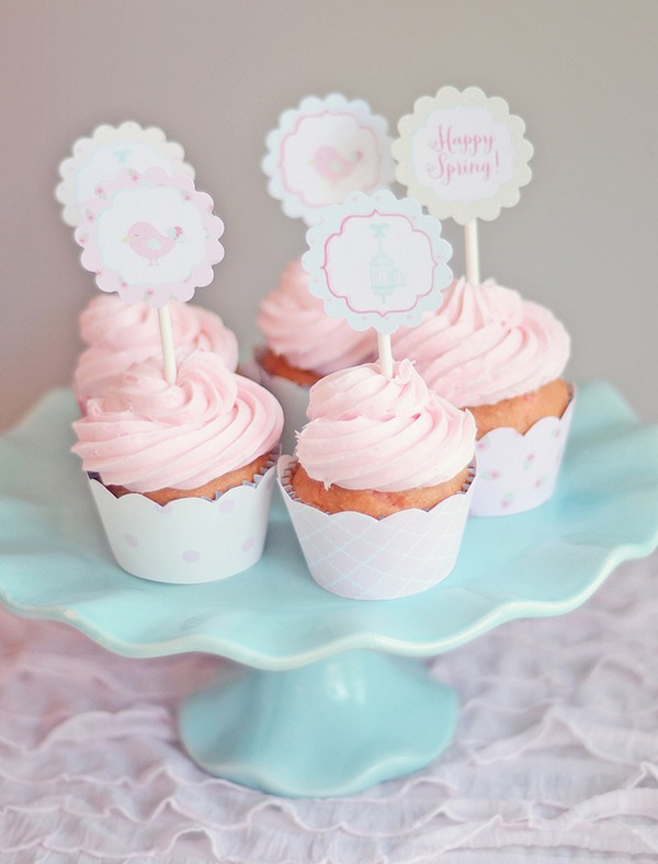 Spring cookie decorating party with TONS of cute ideas! via Kara's Party Ideas KarasPartyIdeas.com #easter #spring #decorating #cookie #party #idea #supplies (3)