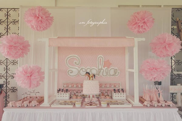 Cowgirl Ranch themed birthday party via Kara's Party Ideas KarasPartyIdeas.com #farm #cowboy #cowgirl #themed #birthday #party #ranch #pink #cake #decor #supplies #idea (18)