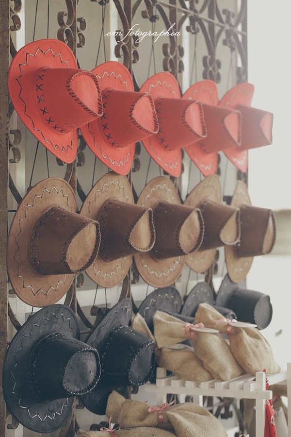 Cowgirl Ranch themed birthday party via Kara's Party Ideas KarasPartyIdeas.com #farm #cowboy #cowgirl #themed #birthday #party #ranch #pink #cake #decor #supplies #idea (17)