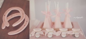 Cowgirl Ranch themed birthday party via Kara's Party Ideas KarasPartyIdeas.com #farm #cowboy #cowgirl #themed #birthday #party #ranch #pink #cake #decor #supplies #idea (2)