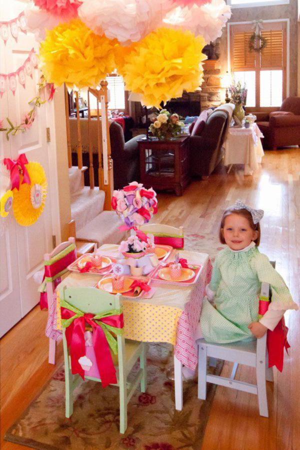 Girly Gingham Party via Kara's Party Ideas | KarasPartyIdeas.com #girly #gingham #pink #party #ideas (7)