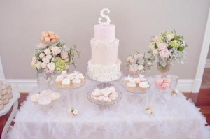 Pink Christening Party via Kara's Party Ideas | KarasPartyIdeas.com #elegant #pink #girl #christening #party #ideas (18)