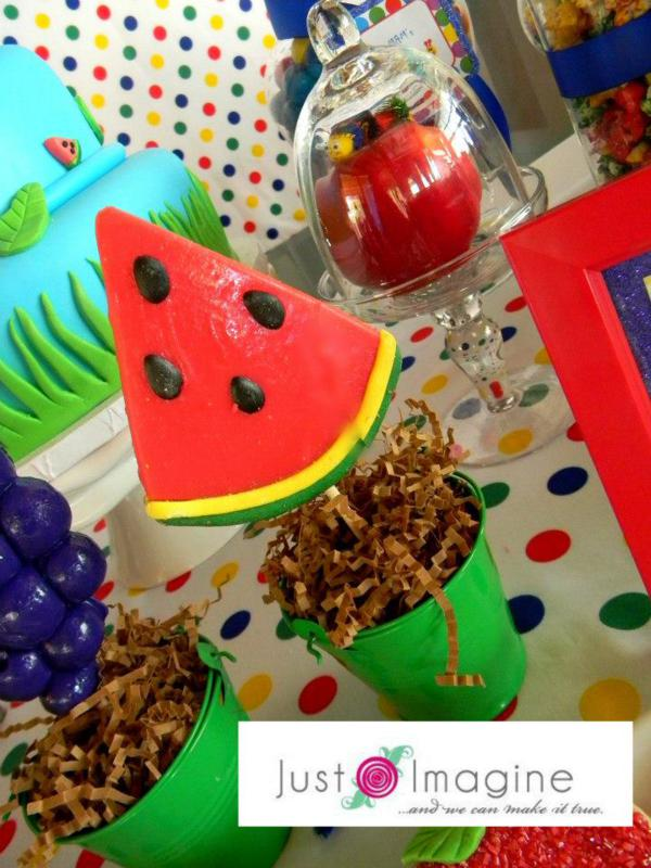 Caterpillar Party via Kara's Party Ideas | KarasPartyIdeas.com #very #hungry #caterpillar #baby #einstein #party #ideas (1)