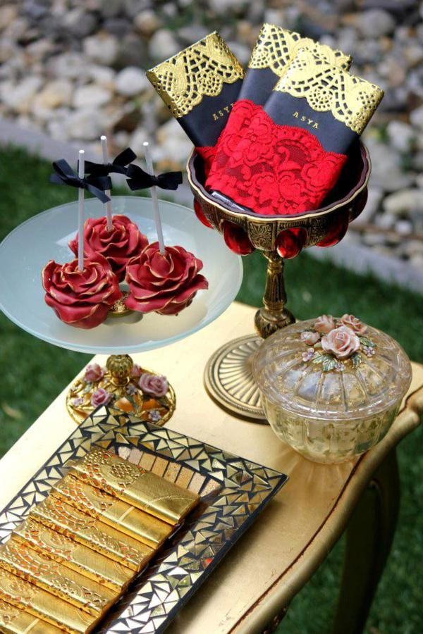Flamenco Dancer Themed Party via Kara's Party Ideas | KarasPartyIdeas.com #flamenco #dance #rose #red #party #ideas (2)