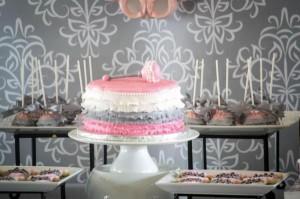 Princess Baby Shower via Kara's Party Ideas | KarasPartyIdeas.com #pink #gray #princess #baby #shower #party #ideas (10)
