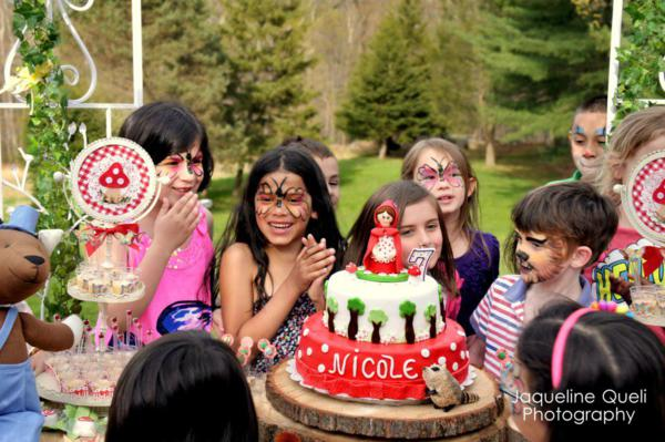 Little Red Riding Hood Party via Kara's Party Ideas | KarasPartyIdeas.com #little #red #riding #hood #party #ideas (19)