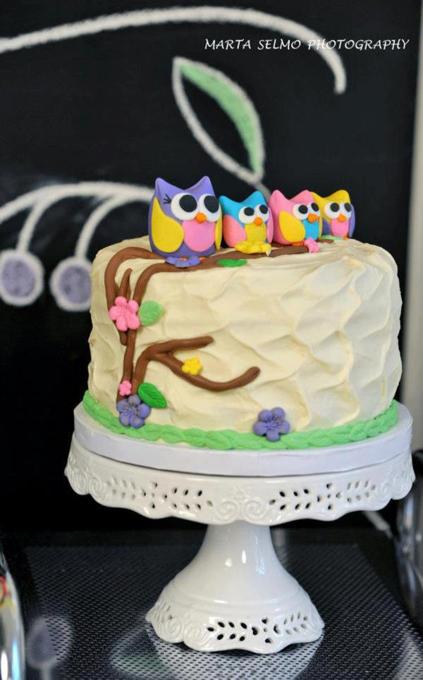 Mama Owl Mother's Day Party via Kara's Party Ideas | KarasPartyIdeas.com #mother's #day #owl #party #baby #shower #ideas (9)