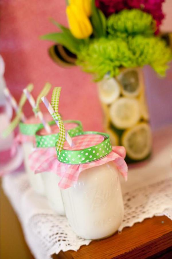 Girly Gingham Party via Kara's Party Ideas | KarasPartyIdeas.com #girly #gingham #pink #party #ideas (5)