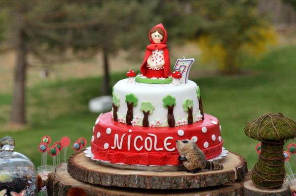 Little Red Riding Hood Party via Kara's Party Ideas | KarasPartyIdeas.com #little #red #riding #hood #party #ideas (16)