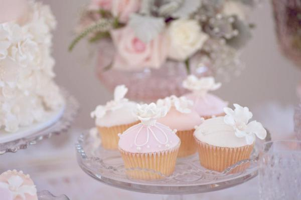 Pink Christening Party via Kara's Party Ideas | KarasPartyIdeas.com #elegant #pink #girl #christening #party #ideas (11)
