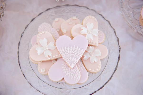 Pink Christening Party via Kara's Party Ideas | KarasPartyIdeas.com #elegant #pink #girl #christening #party #ideas (10)