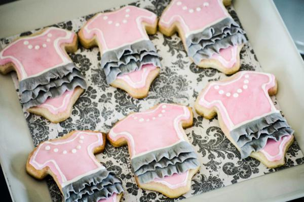 Princess Baby Shower via Kara's Party Ideas | KarasPartyIdeas.com #pink #gray #princess #baby #shower #party #ideas (7)