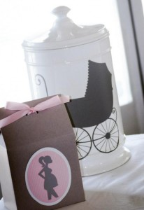 Princess Baby Shower via Kara's Party Ideas | KarasPartyIdeas.com #pink #gray #princess #baby #shower #party #ideas (6)