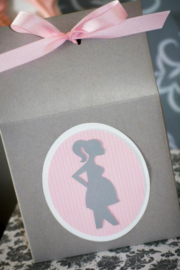 Princess Baby Shower via Kara's Party Ideas | KarasPartyIdeas.com #pink #gray #princess #baby #shower #party #ideas (5)
