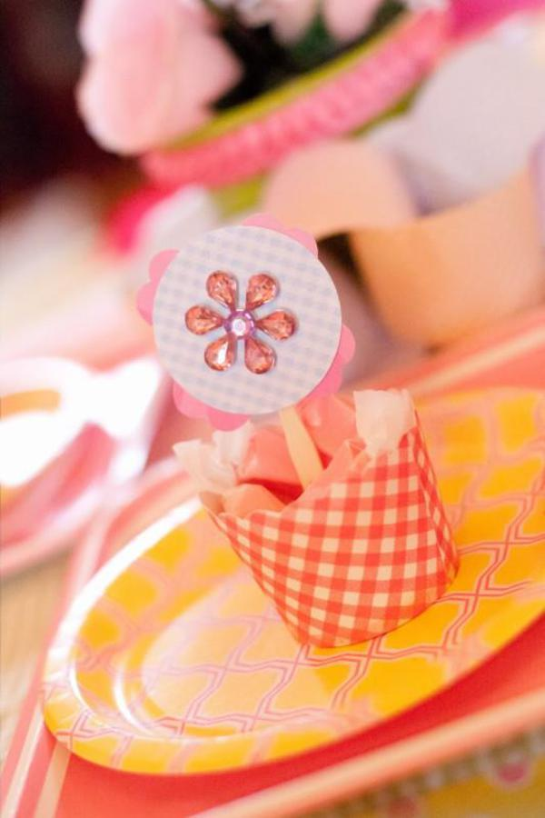 Girly Gingham Party via Kara's Party Ideas | KarasPartyIdeas.com #girly #gingham #pink #party #ideas (1)