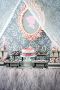 Princess Baby Shower via Kara's Party Ideas | KarasPartyIdeas.com #pink #gray #princess #baby #shower #party #ideas (4)
