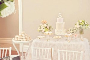 Pink Christening Party via Kara's Party Ideas | KarasPartyIdeas.com #elegant #pink #girl #christening #party #ideas (8)