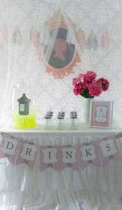 Princess Baby Shower via Kara's Party Ideas | KarasPartyIdeas.com #pink #gray #princess #baby #shower #party #ideas (2)