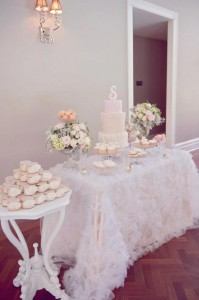 Pink Christening Party via Kara's Party Ideas | KarasPartyIdeas.com #elegant #pink #girl #christening #party #ideas (4)