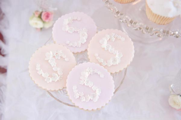 Pink Christening Party via Kara's Party Ideas | KarasPartyIdeas.com #elegant #pink #girl #christening #party #ideas (2)