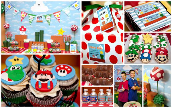 Mario Gamer Party via Kara's Party Ideas | KarasPartyIdeas.com #mario #boy #video #game #gamer #party #ideas (90)
