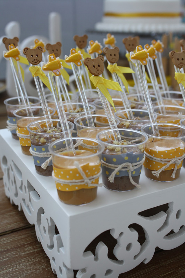 Aviator Bear Baby Shower #aviator #bear #baby #shower (13)