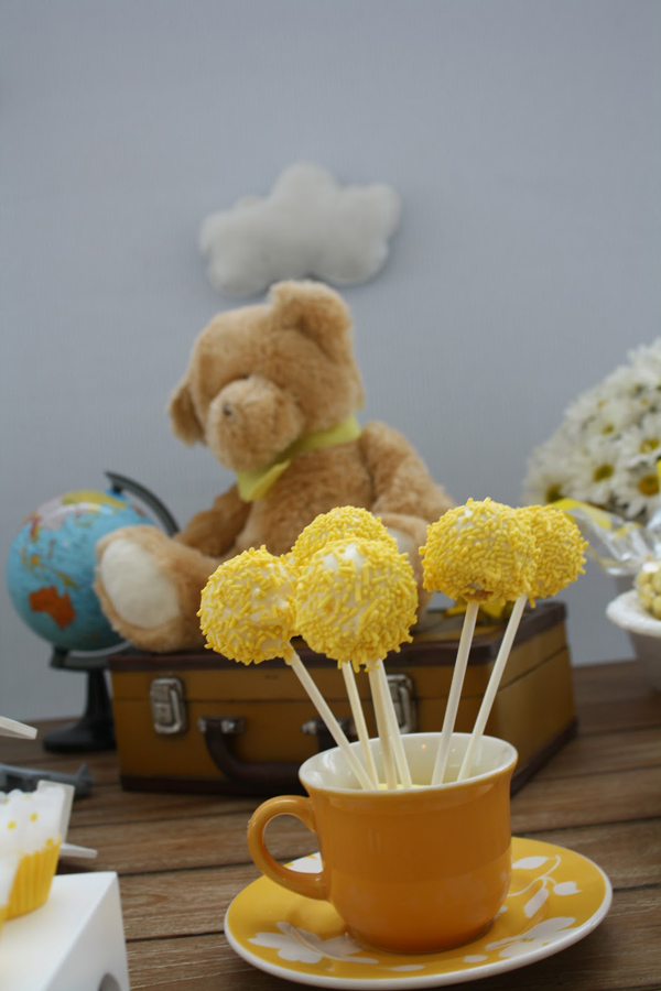 Aviator Bear Baby Shower #aviator #bear #baby #shower (10)