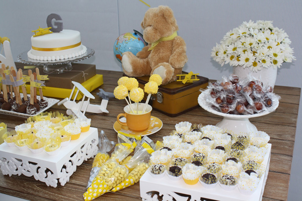 Aviator Bear Baby Shower #aviator #bear #baby #shower (6)