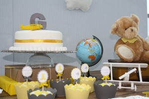 Aviator Bear Baby Shower #aviator #bear #baby #shower (23)