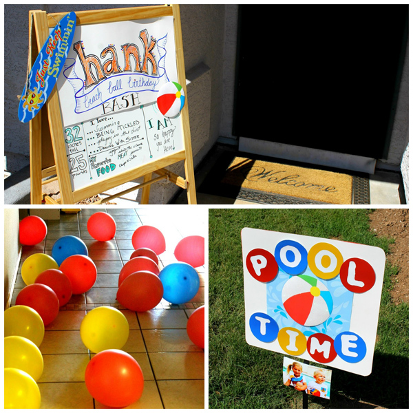 Beach Ball Birthday Bash via Kara's Party Ideas | Kara'sPartyIdeas.com #beach #ball #birthday #bash (11)