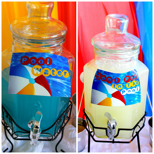 Beach Ball Birthday Bash via Kara's Party Ideas | Kara'sPartyIdeas.com #beach #ball #birthday #bash (9)