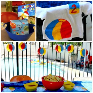 Beach Ball Birthday Bash via Kara's Party Ideas | Kara'sPartyIdeas.com #beach #ball #birthday #bash (23)