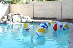 Beach Ball Birthday Bash via Kara's Party Ideas | Kara'sPartyIdeas.com #beach #ball #birthday #bash (20)