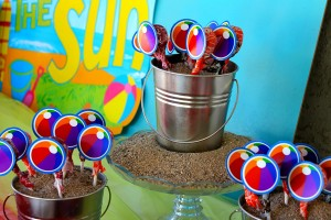 Beach Ball Birthday Bash via Kara's Party Ideas | Kara'sPartyIdeas.com #beach #ball #birthday #bash (15)
