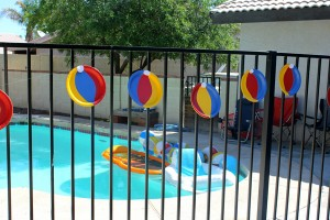 Beach Ball Birthday Bash via Kara's Party Ideas | Kara'sPartyIdeas.com #beach #ball #birthday #bash (12)