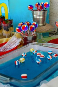 Beach Ball Birthday Bash via Kara's Party Ideas | Kara'sPartyIdeas.com #beach #ball #birthday #bash (8)