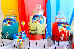 Beach Ball Birthday Bash via Kara's Party Ideas | Kara'sPartyIdeas.com #beach #ball #birthday #bash (6)