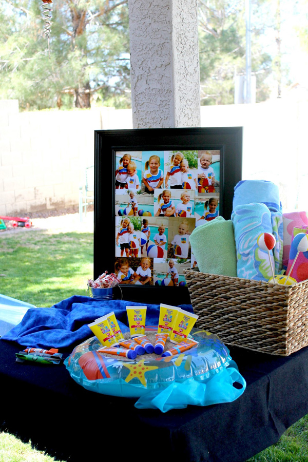 Beach Ball Birthday Bash via Kara's Party Ideas | Kara'sPartyIdeas.com #beach #ball #birthday #bash (5)