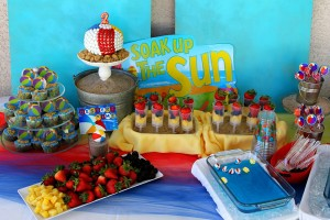 Beach Ball Birthday Bash via Kara's Party Ideas | Kara'sPartyIdeas.com #beach #ball #birthday #bash (1)