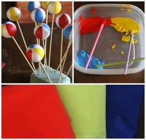Beach Ball Birthday Bash via Kara's Party Ideas | Kara'sPartyIdeas.com #beach #ball #birthday #bash (35)