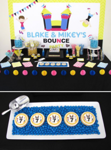 Bounce Party via Kara's Party Ideas | KarasPartyIdeas.com #trampoline #bounce #jump #party #ideas