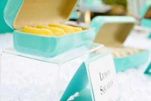 Baby & Co. Tiffany's Baby Shower via Kara's Party Ideas | KarasPartyIdeas.com #tiffanys #blue #baby #shower #party #ideas #favors (9)