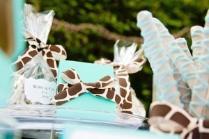 Baby & Co. Tiffany's Baby Shower via Kara's Party Ideas | KarasPartyIdeas.com #tiffanys #blue #baby #shower #party #ideas #favors (8)