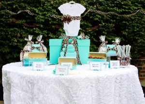 Baby & Co. Tiffany's Baby Shower via Kara's Party Ideas | KarasPartyIdeas.com #tiffanys #blue #baby #shower #party #ideas #favors (6)