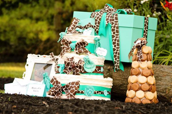 Baby & Co. Tiffany's Baby Shower via Kara's Party Ideas | KarasPartyIdeas.com #tiffanys #blue #baby #shower #party #ideas #favors (2)