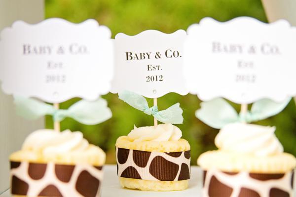 Baby & Co. Tiffany's Baby Shower via Kara's Party Ideas | KarasPartyIdeas.com #tiffanys #blue #baby #shower #party #ideas #favors (17)