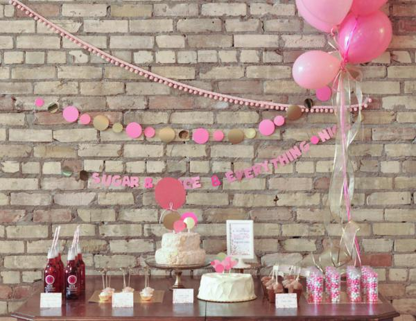 Confetti Baby Shower via Kara's Party Ideas | KarasPartyIdeas.com #confetti #baby #shower #ideas (17)
