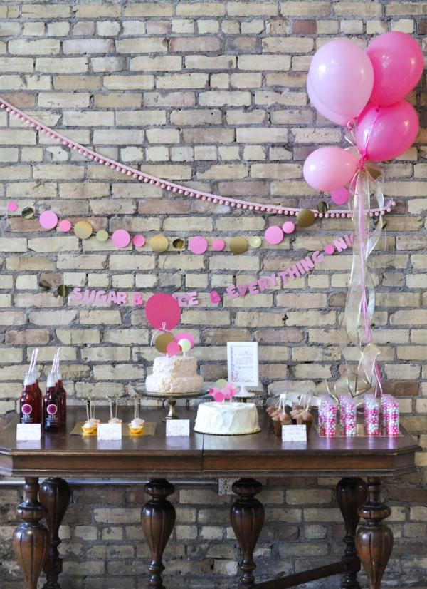 Confetti Baby Shower via Kara's Party Ideas | KarasPartyIdeas.com #confetti #baby #shower #ideas (16)
