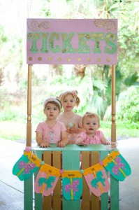 Cupcakes and Carousels 2nd Birthday Party via Kara's Party Ideas | Kara'sPartyIdeas.com #cupcake #carousel #birthday #party (24)